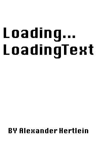 Screenshot LoadingText