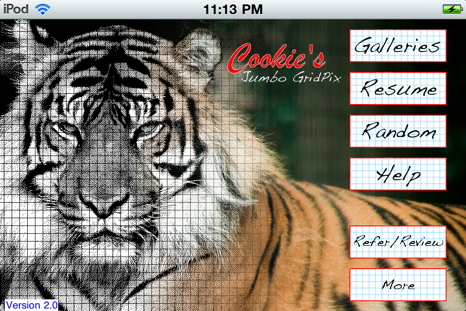 Screenshot Jumbo GridPix Free