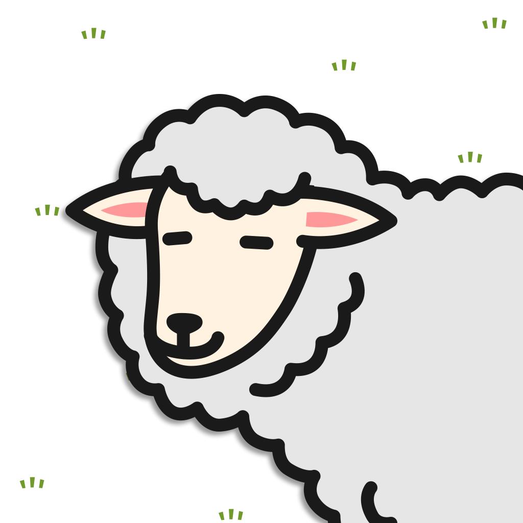 羊儿过来剃毛吧:刈るんです。