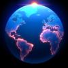 Radiantlabs, LLC - Living Earth - Clock & Weather  artwork